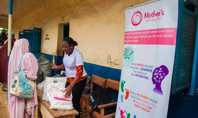 Gift a Birth Kit to Expecting Mothers