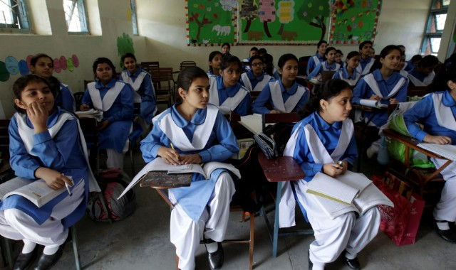 Support Formal Education in State Schools for Girls